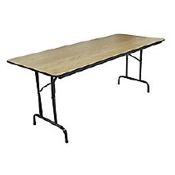 Realspace Folding Table In X In X In Light Walnut PK - Office depot folding table