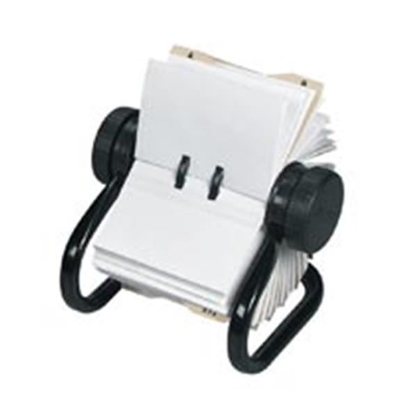 Rolodex rotary business card file 400 card capacity black 1pk rolodex rotary business card file 400 card capacity black 1pk 9029593 rolodex 701607 colourmoves