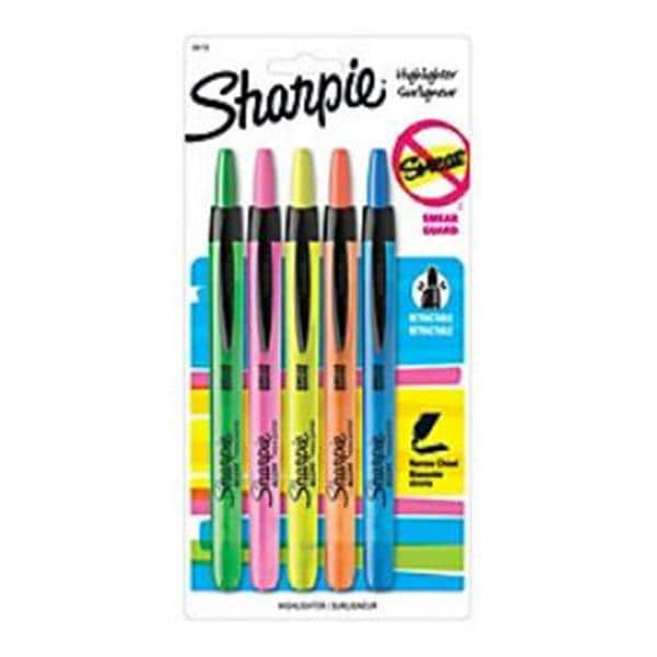 Awesome Sharpie Accent Rtrctbl Highlighters Asst Col 5/Pk 5/Pk 9038929 | Office  Depot Business Services U2014 524896