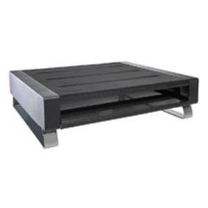 Rolodex Mesh Workspace Printer Stand Black/Silver Ea 9050330   Eldon  Products U2014 703764