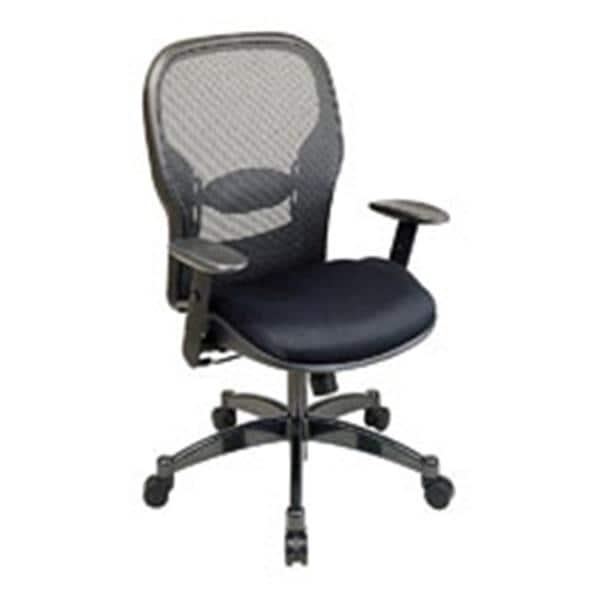 matrex mesh chair gunmetal frame black fabric ea