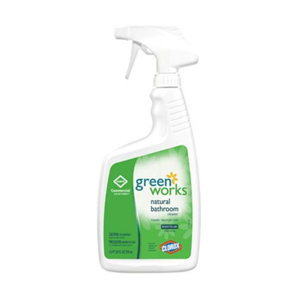 Green Works Natural Bathroom Cleaner Oz Henry Schein International - Natural bathroom cleaner