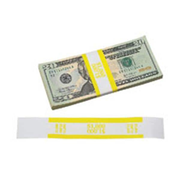 $500 Currency Band Red 400500 Pack of 2 The Coin-Tainer Co 1000 Count