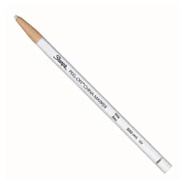 Sharpie Peel-Off China Markers White 12/Pack 12/Pk