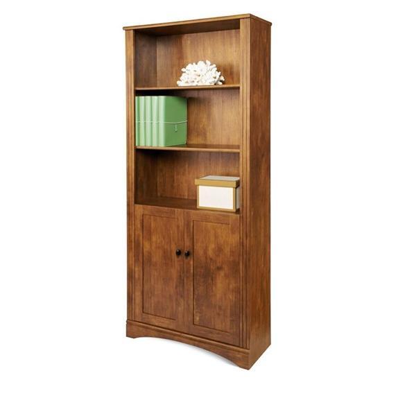 Dawson 5 Shelf Bookcase With Doors