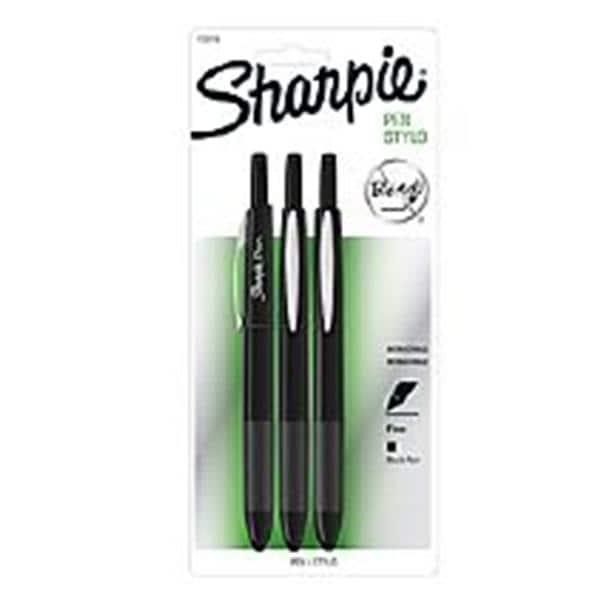 Sharpie Art Pens, Fine Point, Assorted Colors, Hard Case, 12 Pack (