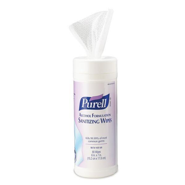 Purell Sanitizing Wipes 80x12/Ca - Henry Schein Special Markets