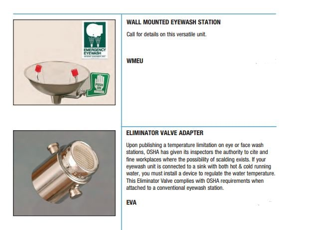 Station Eyewash Eliminator Ea - Henry Schein Medical