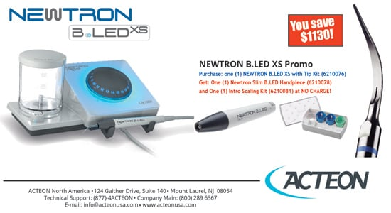 Newtron B.LED XS with Tips Kit - Acteon
