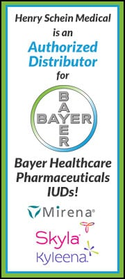 Henry Schein Medical is an Authorized Distributor for Bayer Healthcare Pharmaceuticals IUDs!