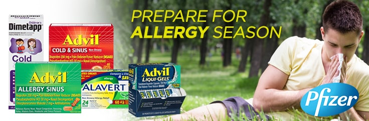 Prepare for Allergy Season!