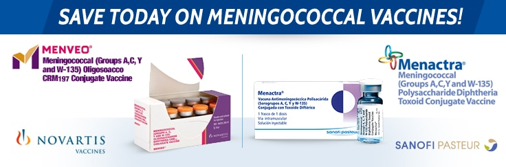Save Today on Meningococcal Vaccines!