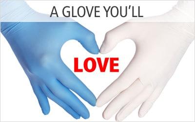 Synthetic Vinyl Exam Gloves Medical Vinyl Gloves