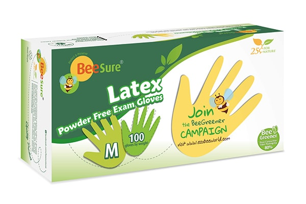 BeeSure Latex Glove