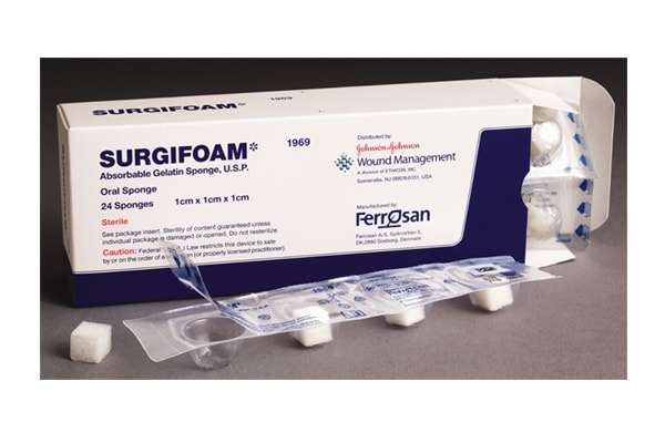 Johnson and Johnson Surgifoam