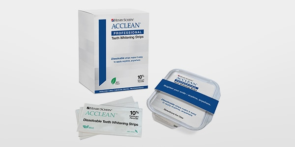 ACCLEAN® Professional Dissolving Whitening Strips