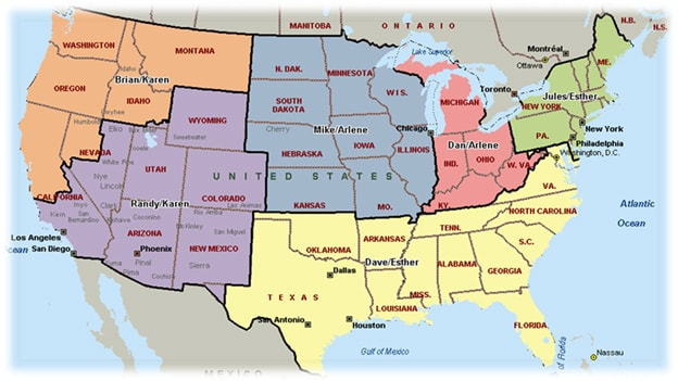 Contact An Equipment Sales Representative Henry Schein Special - Us sales territory map