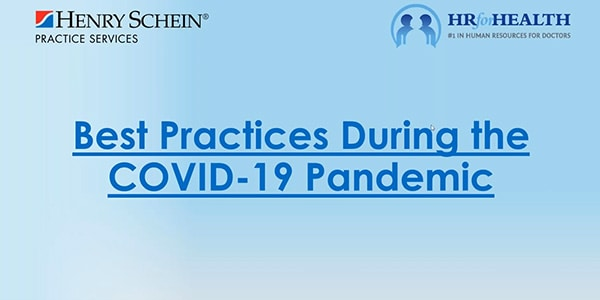 COVID-19 & Your Practice