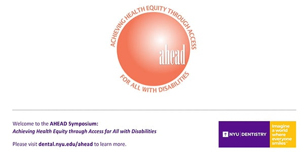 AHEAD Symposium: Achieving Health Equity through Access for All with Disabilities