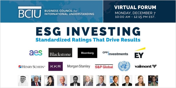 Stanley Bergman with BCIU – Social Purpose and Issues Influencing ESG Today