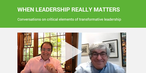 When Leadership Really Matters: An interview with CEO Stan Bergman
