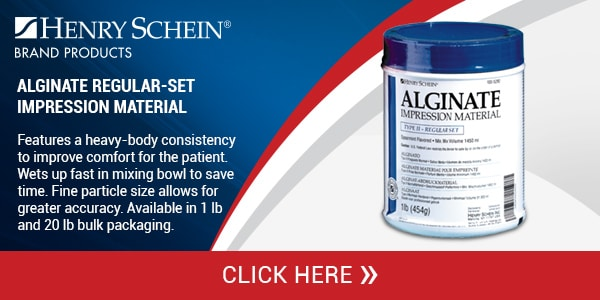 Alginate Regular-Set Impression Material