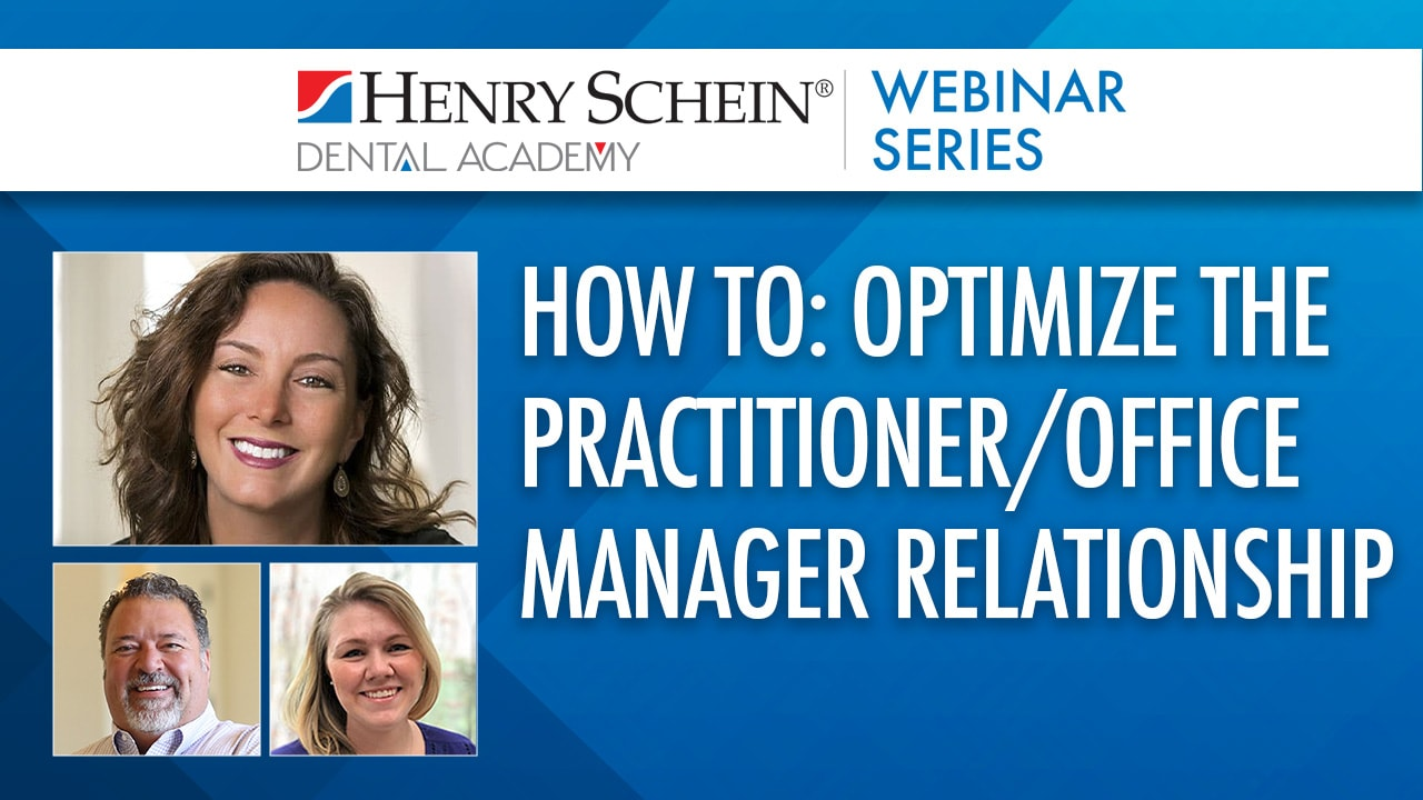 How to: Optimize the Practitioner/Office Manager Relationship