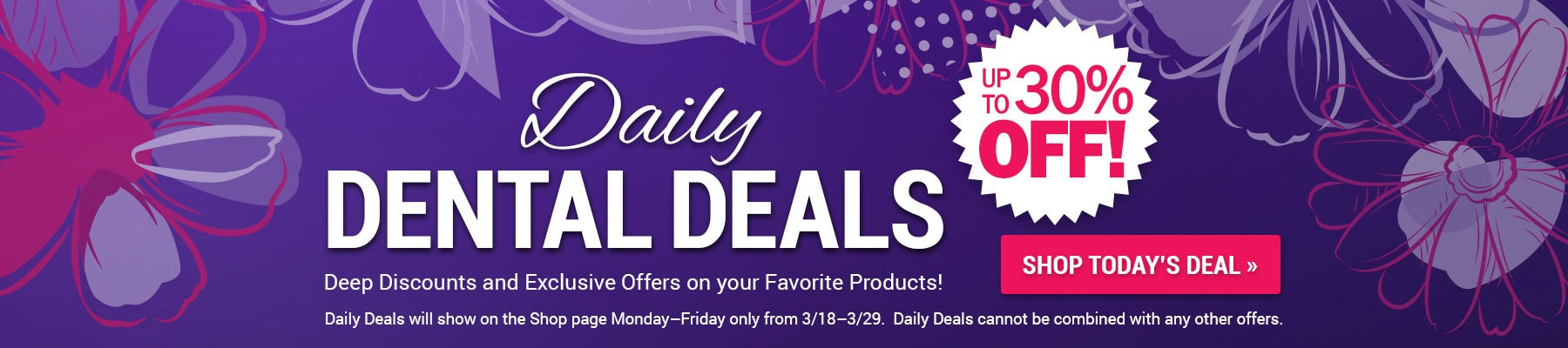 Daily Dental Deals!