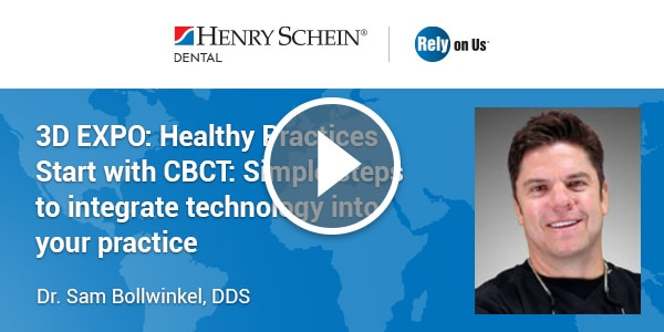 3D EXPO: Healthy Practices Start with CBCT: Simple steps to integrate technology into your practice