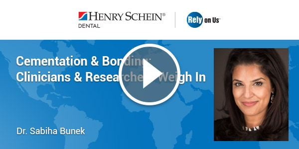 Cementation & Bonding: Clinicians & Researchers Weigh In