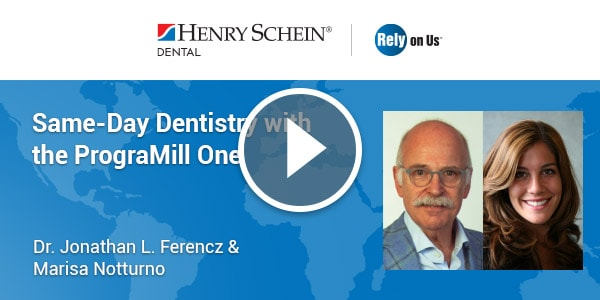 Same-Day Dentistry with the PrograMill One