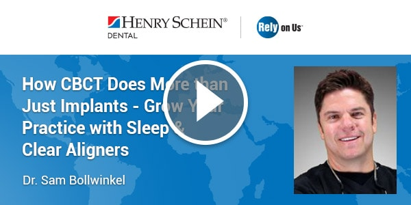 How CBCT Does More than Just Implants - Grow Your Practice with Sleep & Clear Aligners